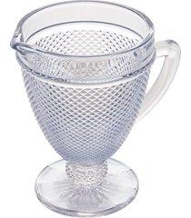 jarra vidro bico de jaca azul 1l
