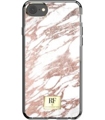 richmond & finch rose gold marble case for iphone 6/6s, iphone 7, iphone 8
