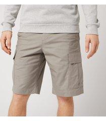 a.p.c. x carhartt men's cargo shorts - gris - xl