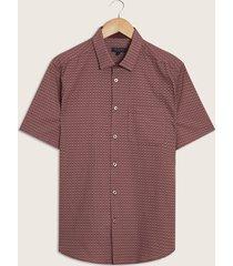 camisa vinotinto-rosa patprimo