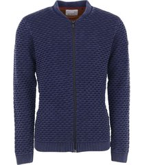 pullover, full zip bomber, jacquard night