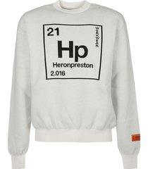 heron preston knit periodic sweatshirt