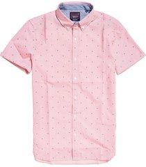 camisa para hombre classic shoreditch print shirt superdry