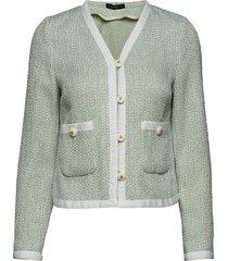 juliet jacket stickad tröja cardigan grön morris lady