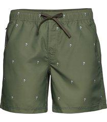scale shorts badshorts grön bula