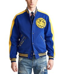 polo ralph lauren men's sportsman baseball jacket