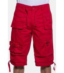 "sean john men's classic flight cargo 14"" shorts, created for macy's"