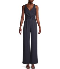 kobi halperin women's sheila sleeveless jumpsuit - midnight blue - size 14