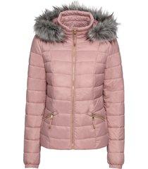 giacca trapuntata con cappuccio (rosa) - bodyflirt