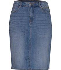 frjozoza 1 skirt kort kjol blå fransa