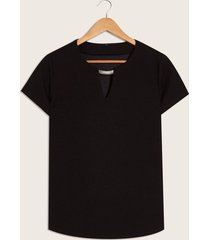 camiseta negra negro s