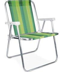 cadeira alta alumínio - 2222