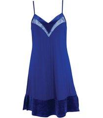 pyjama's / nachthemden lisca koninklijke wens babydoll blauw