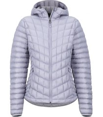 chaqueta featherless hoody morado marmot