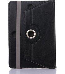 rotación de 360 grados 9.7/10.1 pulgadas tablet pc funda de cuero caso