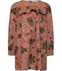 drine ls klänning orange marmar cph