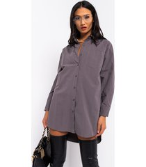 akira step into my office long sleeve button down shirt