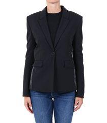 off-white black blazer