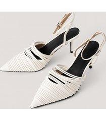 na-kd shoes slingback-pumps - white