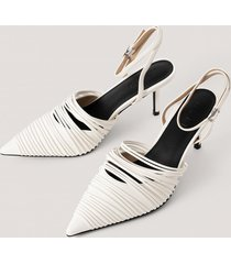 na-kd shoes slingback-pumps - white