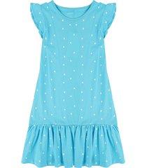 vestido azul-blanco name it