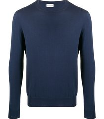 ballantyne slim-fit crew-neck pullover - blue