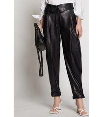 proenza schouler leather pants black 6