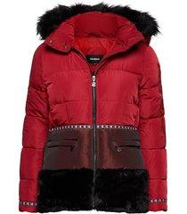 padded sakari outerwear jackets padded coats rood desigual