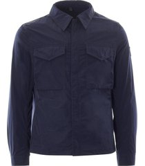 belstaff command shirt | dark ink | 71120263-80092