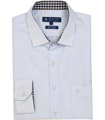 camisa dudalina manga longa cetim fio tinto masculina (rosa claro, 7)