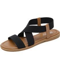sandalias casual de mujer.