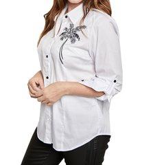 camisa blanca mamy blue portobelo