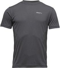craft prime tee m view t-shirts short-sleeved grå craft