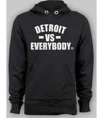 detroit vs everybody eminem marshall shady  pull over hoodie