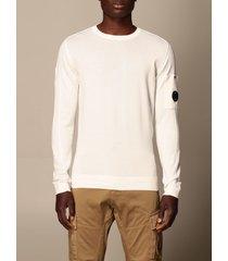 c.p. company sweater c.p. jersey company in cotton with mini logo