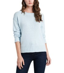 1.state ribbed-trim roll-neck sweater