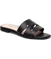 sandal shoes summer shoes flat sandals svart sofie schnoor