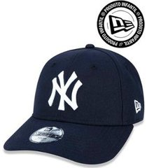 boné 940 infantil new york yankees mlb aba curva strapback new era