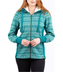 liv outdoor nordic hooded sweater