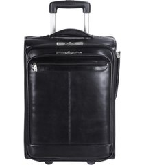 mancini signature collection wheeled laptop and tablet briefcase