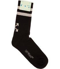 off-white man black arrows socks