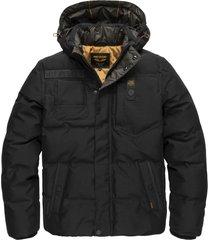 pme legend pja206105 9124 hooded jacket poly micro foam snowburst 3.0 black