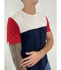 t-shirt bloques rojo - dts3004