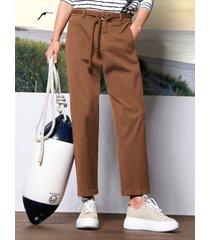 7/8 pantalon van day.like bruin