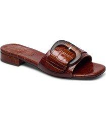 slipper 4021 shoes summer shoes flat sandals röd billi bi
