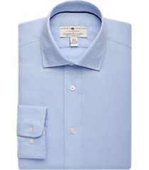 joseph abboud voyager light blue diamond shirt
