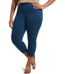 utopia by hue denim capri leggings, online only