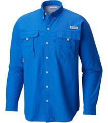 columbia men's pfg bahama ii convertible shirt