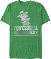 rocky and bullwinkle men's dudley do gooder short sleeve t-shirt