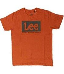 camiseta lee malha penteada 5263l manga curta masculina - masculino